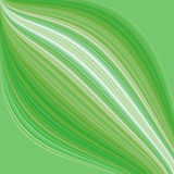 Fond vert abstrait Illustration Stock