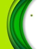 Fond vert abstrait Image libre de droits