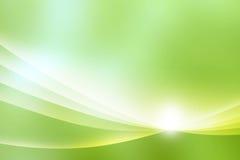 Fond vert abstrait Photographie stock