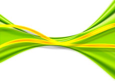 Fond vert abstrait Photographie stock libre de droits