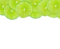 Fond vert abstrait avec des agrumes Image libre de droits