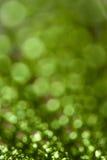 Fond vert abstrait avec des cercles Photos stock