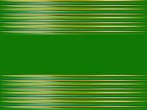 Fond vert abstrait dans les rayures horizontales Image libre de droits