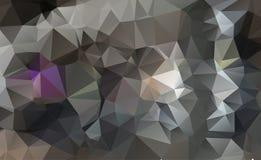 Fond vert abstrait de triangle Photographie stock libre de droits