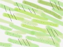 Fond vert abstrait illustration drowing de trame de main pour la conception et le d?cor photo libre de droits