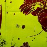 Fond vert avec le brun illustration de vecteur