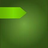Fond vert décoratif dans une bande avec l'index Photo libre de droits