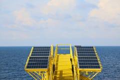 Fond vert d'énergie, énergie d'économies avec de l'énergie verte, les affaires d'énergie, le système de pile solaire et l'énergie Photographie stock libre de droits