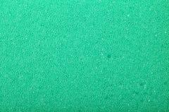 Fond vert d'éponge de mousse de cellulose de texture Image libre de droits