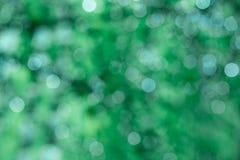 Fond vert d'étincelle Images libres de droits