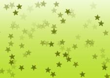 Fond vert d'étoile illustration stock