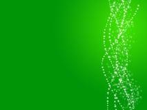 Fond vert d'ampoule Photos libres de droits