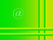 Fond vert d'Internet illustration libre de droits