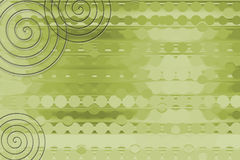 Fond vert de bobine illustration de vecteur