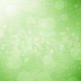 Fond vert de bokeh et de lumière illustration stock
