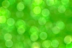 Fond vert de bokeh de tache floue, papier peint image libre de droits