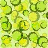 Fond vert de cercle Photos stock