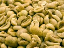 Fond vert de Cofee Photos stock
