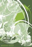 Fond vert de Digitals illustration stock