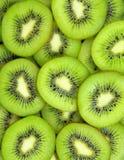 Fond vert de kiwis photographie stock