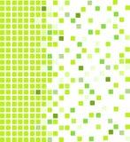 Fond vert de mosaïque Photos libres de droits
