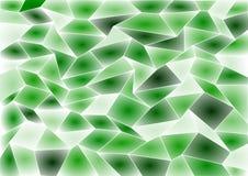 Fond vert de mosaïque de tuile de vecteur Image stock