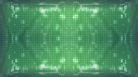 Fond vert de pièce de mosaïque banque de vidéos