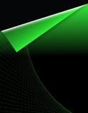 Fond vert de réseau Images libres de droits