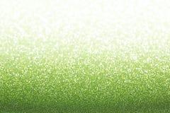 Fond vert vert de scintillement Photographie stock