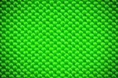 Fond vert de textile de fibre Photographie stock