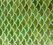 Fond vert de texture de carreaux de céramique image libre de droits