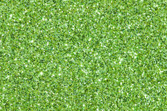 Fond vert de texture de scintillement Photos libres de droits