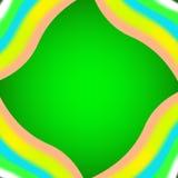Fond vert de texture de tissu Image libre de droits