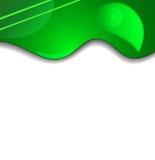 Fond vert de texture de tissu Photos stock