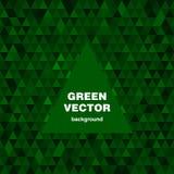 Fond vert de vecteur Image libre de droits