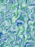 fond vert et bleu sauvage abstrait Photos libres de droits