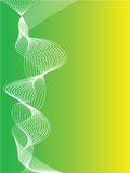 Fond vert et jaune abstrait Photos stock