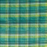 Fond vert et jaune de tissu Image libre de droits