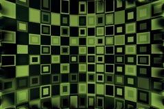 Fond vert et noir illustration de vecteur