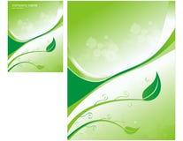 Fond vert frais Photos stock