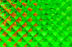 Fond vert géométrique Photos stock