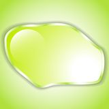 Fond vert jaunâtre abstrait L'espace pour le texte Photos stock