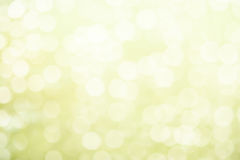 Fond vert mou frais de ressort avec le bokeh et les planches en bois blanches photo stock