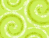 Fond vert mou Wispy de source Photos libres de droits