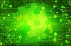 Fond vert numérique abstrait illustration de vecteur