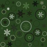 Fond vert sans joint de Noël Photo libre de droits