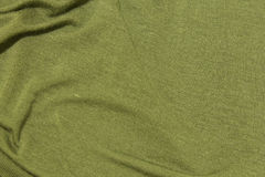 Fond vert texturisé de tissu Images libres de droits