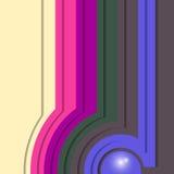 Fond vide carré coloré - conception de vecteur Images stock
