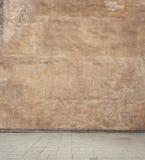 Fond vide grunge de mur de rue photo stock