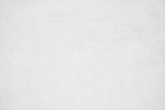 Fond vide sale abstrait Photo de texture blanche vide de mur en béton Surface de ciment lavée par gris horizontal Images libres de droits